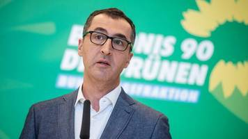 Merkels Türkei-Reise: Grünen-Politiker Özdemir: EU darf sich beim Thema Flüchtlinge nicht von Erdogan erpressen lassen