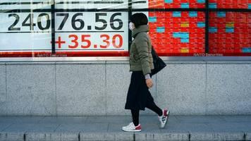 Nikkei, Topix & Co: Anleger in Asien wegen Coronavirus zögerlich