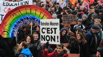 frankreich: regierung beschließt entwurf für rentengesetz