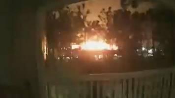 Explosion in Houston/USA: Heftiger Knall meilenweit zu hören