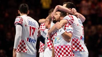 Handball-EM 2020: Kroatien nach zweifacher Verlängerung im Finale