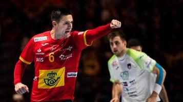 Handball-EM 2020: Spanien zieht nach Sieg gegen Slowenien ins Finale ein