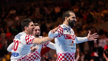 Handball-Europameisterschaft: Kroatien nach Handball-Krimi gegen Norwegen im EM-Finale