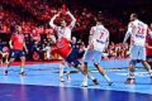 Handball-EM - Norwegen - Kroatien im Live-Ticker: Es gibt Verlängerung