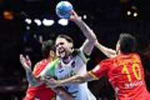 Handball-EM - Spanien ringt Slowenien nieder und steht im Finale