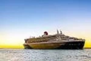 """von amerika nach england - """"zeitlose britische eleganz"""": so luxuriös ist eine Überfahrt mit der queen mary 2"""