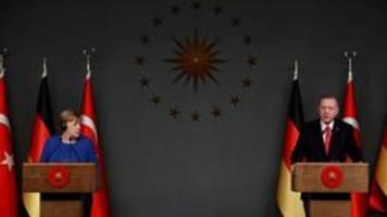 Merkel in Istanbul: Erdogan fordert mehr Flüchtlingshilfen