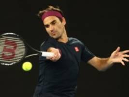 Australian Open: Drama pur: Federer rettet sich ins Achtelfinale