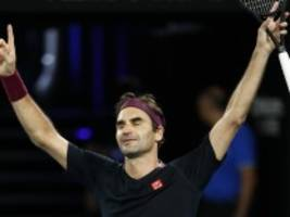 Australian Open: Federer vertreibt die Dämonen