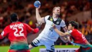 Handball-EM: Knapper Sieg für deutsche Handballer