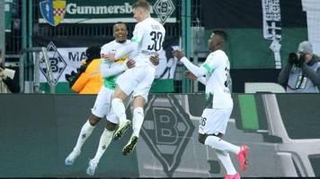 Fußball-Bundesliga: Gladbach feiert Sieg gegen Mainz, Leipzig kassiert Niederlage