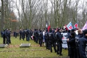 Polizeieinsatz: Gerangel bei Gedenken an Holocaust-Opfer in Marzahn