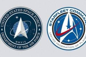 US-Politik: Trump stellt Logo für Space Force vor – und erntet Spott