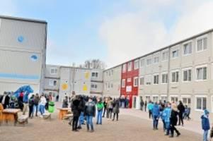 Bildung: Millionen-Projekt: Reinbeks Containerschule kommt gut an