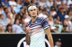 Tennis: Australian Open: Zverev und Kerber erreichen Achtelfinale