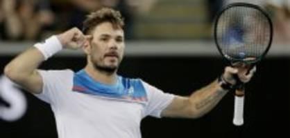 Australian Open: Wawrinka muss gegen Isner abliefern