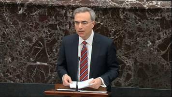 impeachment: verteidiger im amtsenthebungsverfahren weisen vorwürfe gegen trump zurück