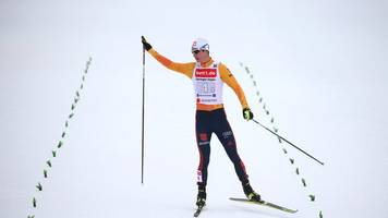 Weltcup in Oberstdorf: Kombinierer freuen sich nach Platz zwei