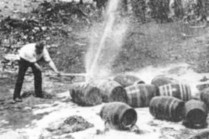 Vor 100 Jahren begann die Prohibition: Eine Schnapsidee mit Folgen