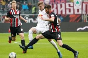 Rückschlag im Titelkampf: Leipzig verliert in Frankfurt