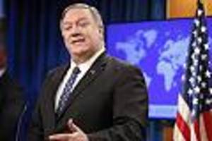US-Politik im News-Ticker - US-Außenminister Pompeo: Riesen-Zoff mitJournalistinwegenFragezurUkraineaffäre
