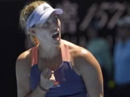 Tennis: Kerber kämpft sich ins Achtefinale der Australian Open