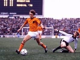 Mit Oranje zwei Mal im WM-Finale: Rob Rensenbrink stirbt mit 72 Jahren