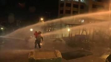 video: proteste gegen neue regierung im libanon