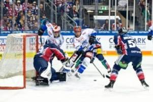 eishockey: eisbären mühen sich zum knappen sieg gegen schwenningen