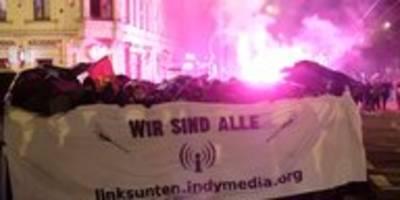 Angriffe auf JournalistInnen in Leipzig: Kommod vermummt