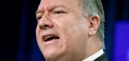 US-Außenminister soll Journalistin angeschrien und beleidigt haben
