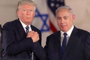 netanjahu sieht in trumps nahost-plan historische chance