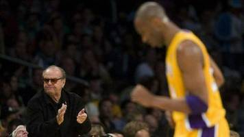 Jack Nicholson: Der Tod von Kobe Bryant bewegt ihn zutiefst
