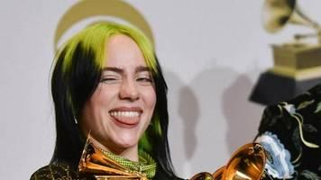 Grammy Awards 2020: Billie Eilish gewinnt die Hauptkategorien