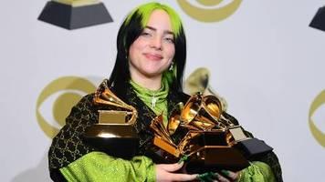 Leute von heute: Gott, das ist so verrückt – Billie Eilish räumt bei den Grammys ab