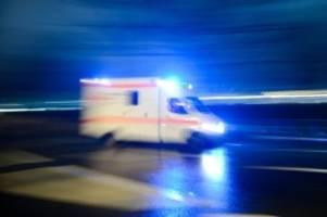 Unfälle: Zwei Tote und 36 Verletzte bei Unfällen am Wochenende
