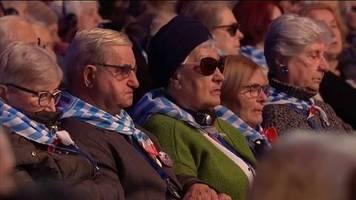 Video: 75. Jahrestag der Befreiung: Gedenken in Auschwitz