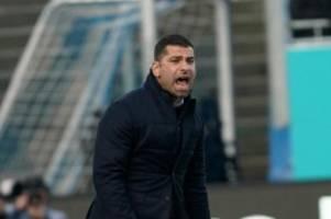 Fußball: Darmstadt-Coach Grammozis: mehr Offensivstärke gegen Kiel
