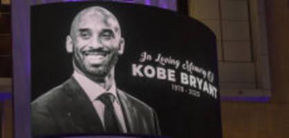 Abgestürzt: Bryant und andere verunglückte Sportler