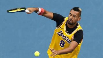Australian Open: Tennisprofis Kyrgios und Gauff würdigen Bryant