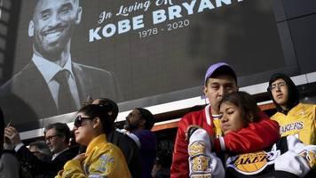 Tod von NBA-Legende - Ruhe in Frieden:Nowitzki und Sport-Welt trauern um Bryant