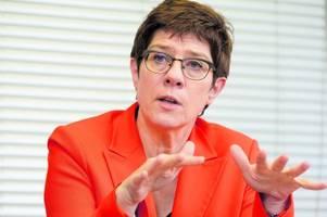 Kramp-Karrenbauer: Die Frage nach der Religion ist nicht entscheidend
