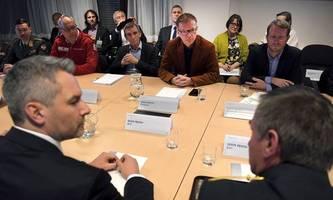 Coronavirus: Einsatzstab tagte im Innenministerium