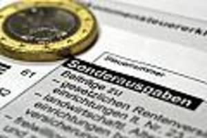 schnellsten und langsamsten finanzämter - ranking zeigt, wo sie besonders lang auf die steuererstattung warten müssen