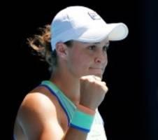 Australian Open: Ashleigh Barty im Halbfinale