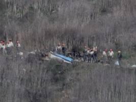 Tod von Kobe Bryant: Pilot wollte kurz vor dem Absturz an Höhe gewinnen