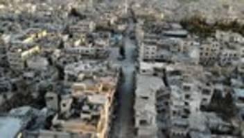 syrien: regierungstruppen starten offensive auf maaret al-numan