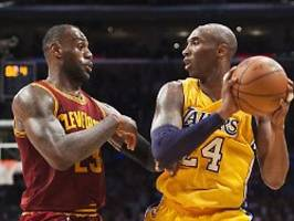 Bin untröstlich, mein Bruder!: LeBron James weint um Kobe Bryant