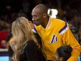 NBA-Star bei Absturz gestorben: Kobe Bryant flog immer ohne seine Frau