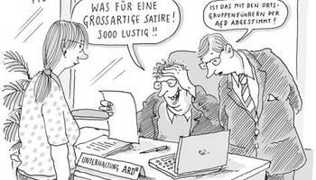 Cartoons von Til Mette: Der geheime ARD-Plan für bessere Satire